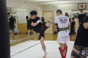 プロやアマのキックボクシング